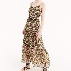 J. Crew Mercantile Floral Tiered Maxi Dress NWT